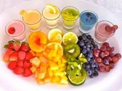 Rainbow Fruit!
