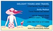 This event sponsored by Delight Tours and Travel