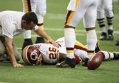 A player got injured.