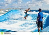 Surfing on the Cruise!