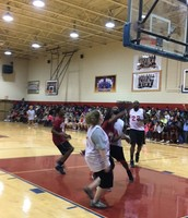 THE STUDENTS LOVED THE GAME!  GREAT EVENT FOR ALL!