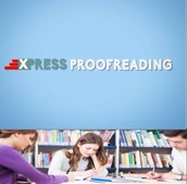 Working for proofreading services