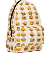The side view of the backpack