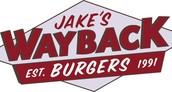 Jake's Wayback Burger Granby - Monday May 2nd