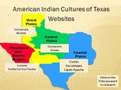The region the Comanches lived in were the central plains .