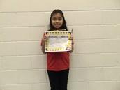 Kiara Bautista - Third Grade