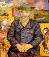 Ritratto di Pere Tanguy, Van Gogh, 1888