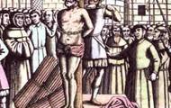 Man getting hanged