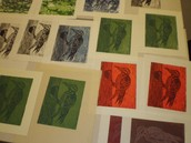 Collection of Woodcut Prints