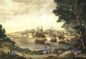 Port in Delaware colony