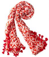 Capri Cotton Wrap - Geranium Floral