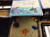 Kinder diorama and research