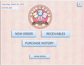 Generates new customer order and purchase history