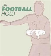 football hold.
