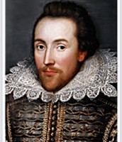An image of Shakespeare