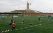 ¡Ven a los campos de fútbol de la Torre!
