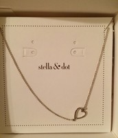 Interlock Heart Necklace $20