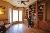 Built-in Cabinets in Study