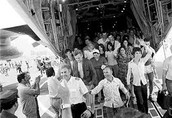 החטופים מגיעים לישראל