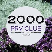 $2,000+ PRV