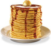 Our famous all you eat pancakes