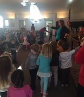 Singing at Chapel
