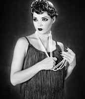 Model, Jadyn Hardaway rocking a flapper