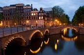 First stop Amsterdam!