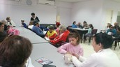 פעילות התנדבות במרכז יום לקשיש