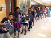 5th Grade Students 1-1 Laptops