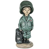10 Little Soldier Boys Statues
