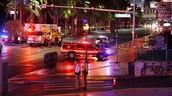 לאס וגאס: נהגת דהרה בכוונה לתוך המון