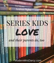 Book Series that kids love (and parents, too!)