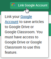 Link Google Account
