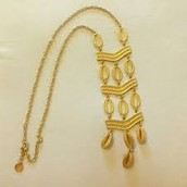 Kimberly necklace - gold - Orig. 89.00 NOW $40.00