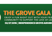 Thank You for Your Support at the Grove Gala 2016!