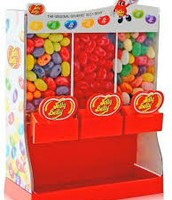 Three Candy Holder Jelly Bean