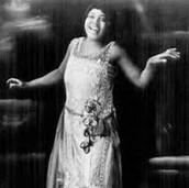Bessie Smith in action