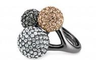 Soirée Trio Ring (adjustable size)