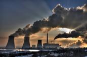 זיהום אוויר תעשייתי