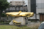 Statue dedicated to The Amur Catfish