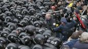 Who are the protestors?