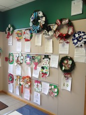You are invited to tour and view the projects posted throughout the fourth grade hallway.