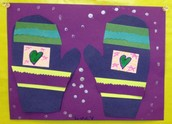Kindergarten matching mittens!