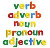 verbs, nouns all of that.....