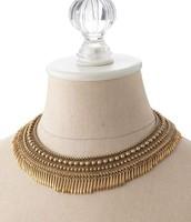 Tansy Fringe Collar