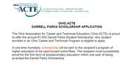 Darrell Parks Scholarship $1,000