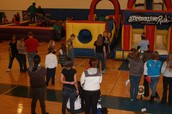 GIANT INFLATABLE GAMES/  OBSTACLE COURSE