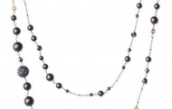 Madeline Pearl Necklace -Gold
