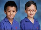 Samarpan Gurung Pradhan & Anakin Teahan 5B